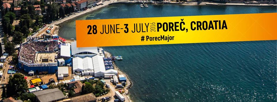 Swatch Beach Volleyball Poreč Major 2016